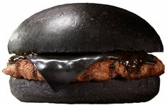 Burger King's black burgers, Japan. the fast-food chain will introduce two new burgers featuring black buns, black cheese made with bamboo charcoal, and an onion sauce mixed with squid ink. The Kuro (black) Pearl, priced at ¥480, will have a 115-gram patty, black cheese and sauce sandwiched by black buns. Cant think of anything more gross and toxic. Why would sheeple want to eat it?