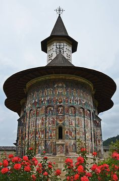 A church in Suceava, Romania, from Iryna