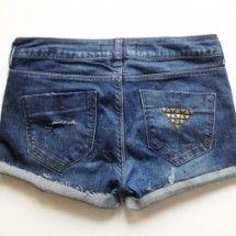 DIY Denim shorts