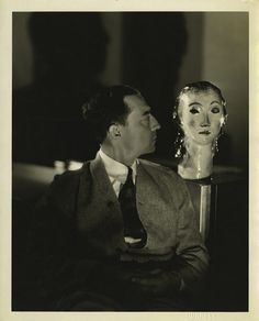 Buster Keaton & Friend     by George Hurrell