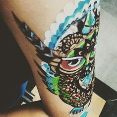 Owl tattoo....