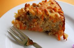 Mrkvový koláč s mandľami je skvelou alternatívou pre tých z vás, ktorí majú radi koláče bez obsahu múky.