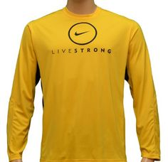 Livestrong Nike Men's Dri-Fit Long Sleeve Training « Clothing Impulse Love long sleeve dri-fit shirts or even long sleeve cotton. Again, practical