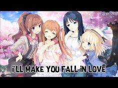 flirting games anime boys youtube song list