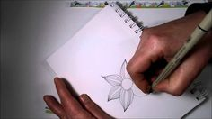 Tangled Flower Tutorial, don't forget to subscribe and check out our FB group, For the Love of Doodling!