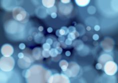 Blue Bokeh Vector Background