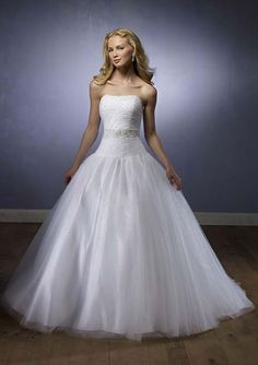 Beautiful ball gown style wedding dress