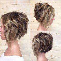 "Molto Bella Hair Studio on Instagram: ""Undercut bob and color courtesy of @emilyandersonstyling. LOVE! #gilbertstylist #azstylist #gilbertsalon #azsalon #braidsandbalayage #americansalon #behindthechair #moltobellahair #bob #shorthair #beachwaves"""