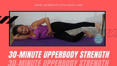 Upper Body Strength Workout, Strength Yoga, Yoga Fitness, Health Fitness, Workout Videos, At Home Workouts, How Are You Feeling, Feelings, Youtube