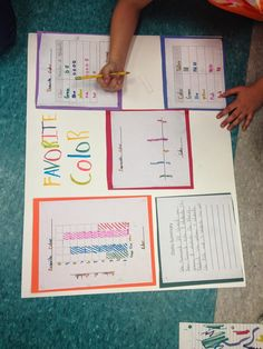 Learning Lab Resources: Data Collection and Graphing Project Graphing Activities, Numeracy, Math Games, Third Grade Math, Second Grade, Math Projects, Math Workshop, Guided Math, Common Core Math