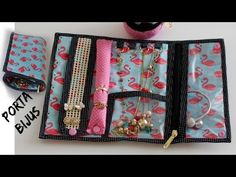 YouTube Quilt Patterns, Sewing Patterns, Sewing Case, Sewing Appliques, Travel Kits, Jewelry Holder, Craft Work, Pattern Making, Diy Fashion