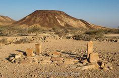 Pre-Islamic graves outside Berbera, Somaliland, Somalia