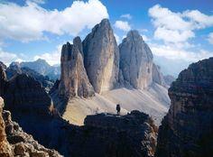 Drei Zinnen in den Dolomiten: Auf vielen Bergtouren entdecken Bergsteiger auch...