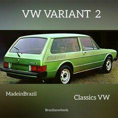 VW Variant 2 1978  brazilian cars