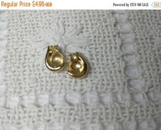 Last Minute Deals 30% Off Avon Clear Sparkle Earring Jackets for Pierced earrings Mint Condition 1985 original box