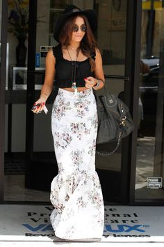 LA Street Style: Vanessa Hudgens Vs The Maxi