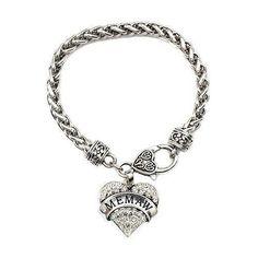 Memaw bracelet from inspired silver