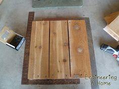 Pretty Front Porch: DIY Large Cedar Planter Boxes – Engineering A Home Diy Wooden Planters, Outdoor Planter Boxes, Planter Box Plans, Tree Planters, Cedar Planter Box, Garden Planter Boxes, Outdoor Wood Projects, Wood Shop Projects, Diy Outdoor Furniture