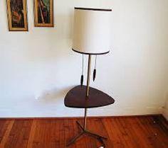 mid century modern floor lamp with table   Lamp Design Ideas