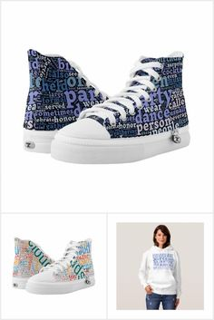 Words cloud Printed Shoes, Converse Chuck Taylor, High Tops, High Top Sneakers, Comfy, Clouds, How To Wear, Collection, Fashion