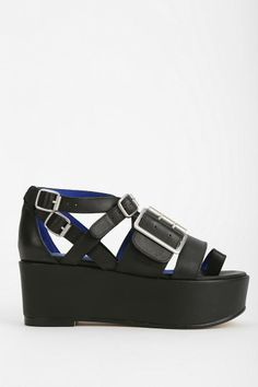 Jeffrey Campbell Laica Buckled Platform-Sandal #urbanoutfitters
