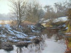 Featuring new paintings fresh from the easel, exhibition news and other stuff from Peter Barker RSMA Landscape Art, Landscape Paintings, Winter Pastels, Winter Painting, Traditional Landscape, Classic Paintings, Snow, Nature, Outdoor