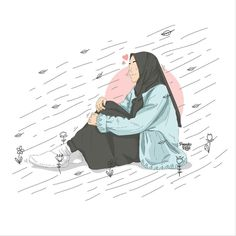 #kapalıkız #basörtu #kız #girl #kızlar #gils #muslyman #islam #tesettür Muslim Pictures, Islamic Pictures, Chibi Wallpaper, Cartoon Wallpaper, Tostadas, Hijab Drawing, Anime Muslim, Hijab Collection, Hijab Cartoon