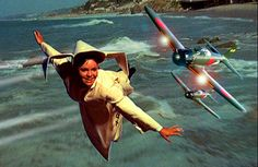 Our top story tonight, Sister Bertrille (a.k.a. The Flying Nun) was shot down over the Sea of Japan today by the Imperial Japanese Navy ace, Lieutenant Junior Grade Hiroyoshi Nishizawa... There were no survivors...