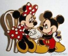 Disney Wedding Engagement Mickey Proposes Proposing to Minnie Mouse Married Pin