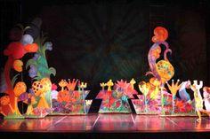 Alice in Wonderland - Ballet Repertory Theatre Alice In Wonderland Musical, Wonderland Theater, Alice In Wonderland Characters, Wonderland Costumes, Candy Crush Saga, Set Design Theatre, Banner Backdrop, Scenic Design, Backdrops