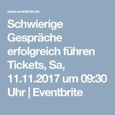 Schwierige Gespräche erfolgreich führen  Tickets, Sa, 11.11.2017 um 09:30 Uhr | Eventbrite