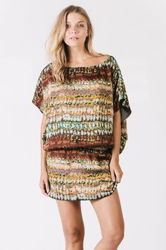 ONLINE EXCLUSIVE: Print Dani Dress by Karen Zambos