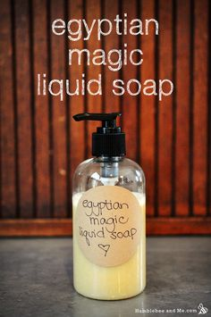 This quick-to-assemble Egyptian Magic liquid soap mixes all the best parts of Egyptian Magic with a gentle liquid soap base to make for a bee-riffic honey kissed hand soap. Egyptian Magic is made from just six ingredients—olive oil, beeswax, pollen, … Continue reading →