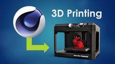 Cineversity Printing Workflow with Cinema [Video Tutorial Playlist] Animation Classes, Learn Animation, 3d Tutorial, Cinema 4d, 3d Printer, Printing, Learning, Tutorials