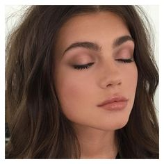 7 Tips on How to Pull Off a Natural Makeup Look Correctly ❤ liked on Polyvore featuring beauty products and makeup
