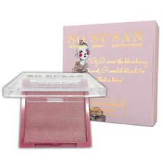 So Susan Universal Blush - pretty pink, just enough glow - probably my new favorite blush.