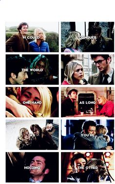 Tenth Doctor and Rose♡♡♡♡♡♡ just Rose with any doctor♡♡♡♡♡♡♡♡♡♡