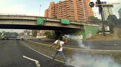 """""""Aqui nos vamos a quedar hasta que sea necesario"""" Santa Fe 26M - Braulio Jatar - #ImYourVoiceVenezuela"""