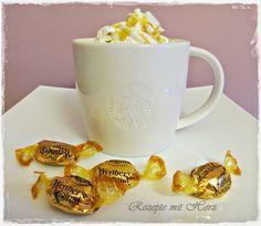 Rezepte mit Herz: Caramel Macchiato mit Bonbons