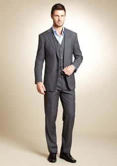 3 piece suit. So much awesome.