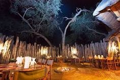 Dine out under the stars in the boma - a delicious braai. Elephant Camp, Al Fresco Dining, Under The Stars, Swimming Pools, Outdoor, Image, Swiming Pool, Outdoors, Pools