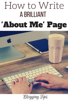 How to Write a Brilliant About Me Page! // The Reading Residence