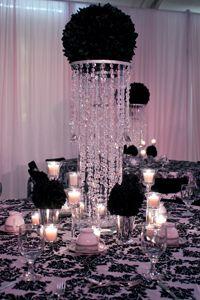 Bling Centerpieces Flower Arranging Videos Event Pro Training Decoration Table Reception Decorations