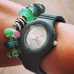 #100happydays #day27 #hiphop #trollbeads #verde #green #orologio #braccialetto #mipiacepercasoilverde? #tagsforlikes #l4l #likesforlikes #followme