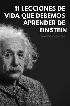 11 Lecciones de vida que debemos aprender de Einstein Love Of My Live, Make Easy Money, Personal Goals, Isagenix, Positive Mind, Life Advice, Wellness Tips, Wise Words, Psychology