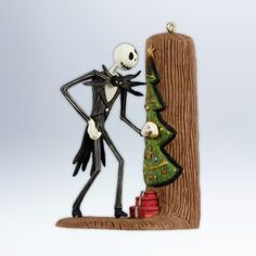 $20.38 Hallmark 2012 Keepsake Ornaments QXD1004 Jack Sneaks a Peek ~ The Nightmare Before Christmas  From Hallmark   Get it here: http://astore.amazon.com/ffiilliipp-20/detail/B008H5W3WI/185-9396684-0246043 Christmas Tree Light Up, Christmas Love, Christmas Tree Ornaments, Hanging Ornaments, Hallmark Christmas, Disney Christmas, Christmas Ideas, Merry Christmas, Christmas Decor