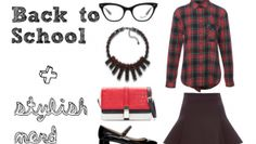 stylish nerd School 2013, Back To School, Nerd, Stylish, Fashion, Moda, Fashion Styles, First Day Of School, Fasion
