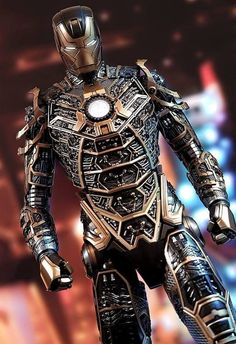 Steampunk Iron Man …