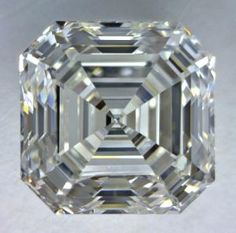 GORGEOUS! 2.01-Carat Asscher Cut Diamond    This Fancy-cut G-color, and VS1-clarity diamond comes accompanied by a diamond grading report from GIA     $19627.65