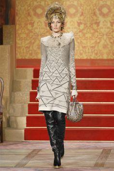 Chanel Pre-Fall 2009 Fashion Show - Katia Kokoreva